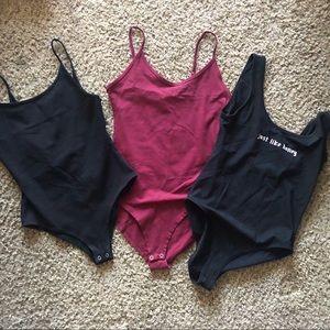 4 bodysuits
